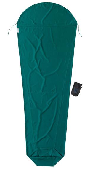 Cocoon MummyLiner sisäpussit microfiber, vihreä